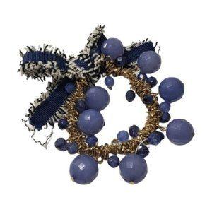 NY&C Women's Blue Stretch Fashion Bracelet Sz OS